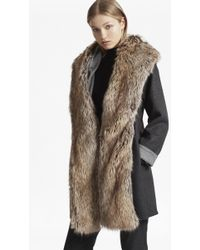 French Connection - Cotswolds Coating Oversized Coat - Lyst