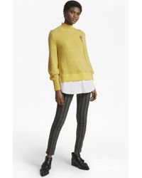French Connection - Avis Embellished Knitted Jumper - Lyst