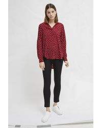 French Connection - Adelise Light Pop Over Shirt - Lyst