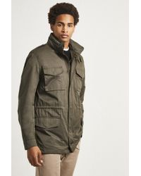 99ff2f379 French Connection Wax Sanded Field Jacket in Orange for Men - Lyst