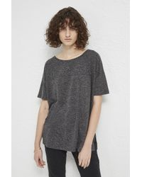 French Connection - Hetty Horizontal Seam T-shirt - Lyst