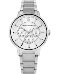French Connection - Silver Bracelet Watch - Lyst