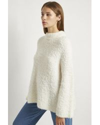 French Connection - Cozy Knit Raglan Sleeve Jumper - Lyst