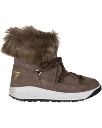 EA7 - Suede Ankle Boots Booties Ski Fur Nano - Lyst