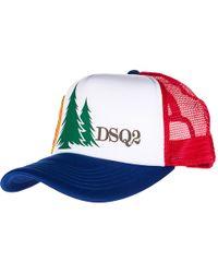 DSquared² - Cappello Berretto Regolabile Baseball - Lyst