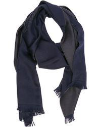 Emporio Armani - Wool Scarf - Lyst