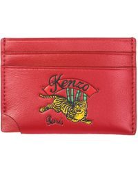 KENZO - 'jumping Tiger' Card Holder - Lyst