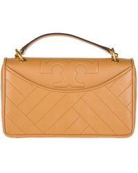 Tory Burch - Leather Shoulder Bag Alexa - Lyst