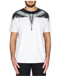Marcelo Burlon - Wings Print T Shirt - Lyst