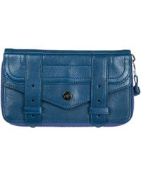 Proenza Schouler - Wallet Genuine Leather Coin Case Holder Purse Card Bifold - Lyst