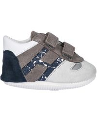 Hogan - Boys Shoes Baby Child Sneakers Camoscio Olympia - Lyst