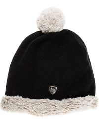 EA7 - Beanie Hat Train Evolution Plus - Lyst