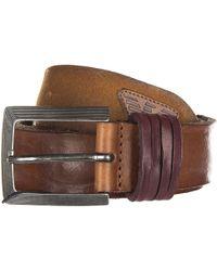 Armani Jeans - Genuine Leather Belt Ardiglione - Lyst