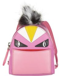 Fendi - Bag Bugs Backpack Charm - Lyst