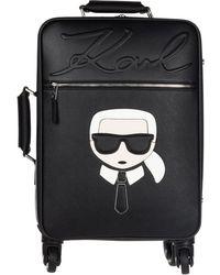 Karl Lagerfeld - Suitcase Trolley K/ikonik - Lyst