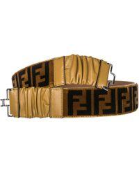Fendi - Cintura donna vera pelle - Lyst