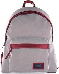 Armani Jeans - Nylon Rucksack Backpack Travel - Lyst