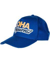 DSquared² - Adjustable Cotton Hat Baseball Cap Aloha Baseball - Lyst