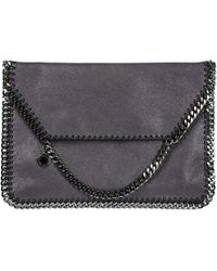 Stella McCartney - Clutch Handbag Bag Purse Falabella shaggy Deer - Lyst