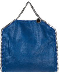 ff3017bfeed55 Stella McCartney - Handbag Shopping Bag Purse Tote 3chain Falabella Fold  Over shaggy Deer - Lyst