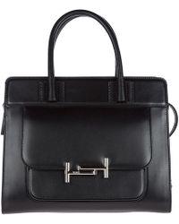 Tod's - Leather Handbag Shopping Bag Purse - Lyst