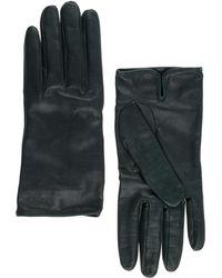 Prada - Leather Gloves - Lyst