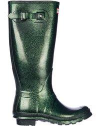 HUNTER - Rubber Rain Boots Original Starcloud Tall - Lyst