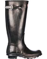 HUNTER - Rubber Rain Boots Wellington Tall Starcloud - Lyst