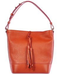 c3176682e83b Hogan - Leather Shoulder Bag Secchiello Nappine - Lyst