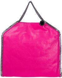 bdb2517290ba6 Stella McCartney - Handbag Shopping Bag Purse Falabella Fold Over 3chain shaggy  Deer - Lyst