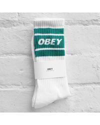 Obey - Cooper Ii Socks - Lyst