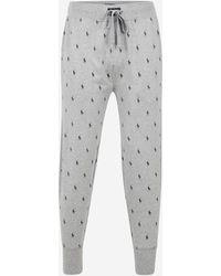 Polo Ralph Lauren - Pantalon de pyjama logotypé en all over - Lyst