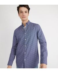 Lyst Galeries Droite Homme Pour Hsrcaro Lafayette Chemise FRxwrqF