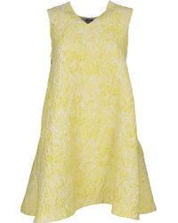 MSGM - Abito Dress - Lyst