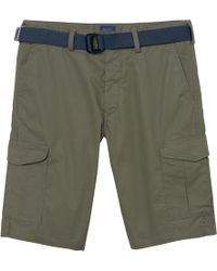 GANT - Relaxed Tech Preptm Belted Utility Shorts - Lyst