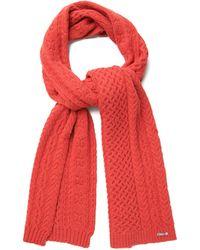GANT - Aran Knit Scarf - Lyst
