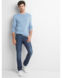 Gap - Garment-dye Crewneck - Lyst