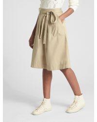 Gap - A-line Utility Skirt - Lyst