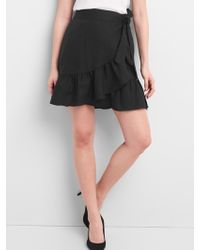 Gap - Ruffle Wrap Skirt - Lyst