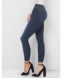 Gap - Mid Rise True Skinny Jeans In Sculpt - Lyst
