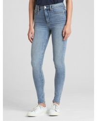 Gap - Soft Wear High Rise True Skinny Jeans - Lyst
