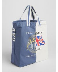 Gap - Logo Global Remix Tote - Lyst
