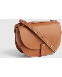 c6a2d50a30d1 Gap Mini Top Handle Crossbody Bag in Brown - Lyst