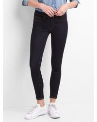 Gap - Washwell Mid Rise Favorite Ankle Jeggings - Lyst