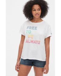 ad80784259f6 Levi's Sleeveless Pride T-shirt in Black - Lyst
