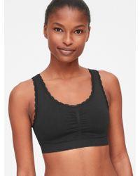 4a97a5a5f12 Lyst - Gap T-shirt Bra in Black