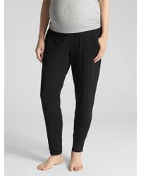 GAP Factory - Maternity Sleep Pants In Modal - Lyst