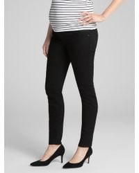 GAP Factory - Maternity Inset Panel True Skinny Jeans - Lyst