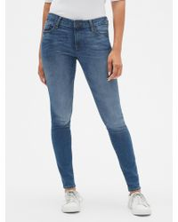 GAP Factory - Mid Rise Jeggings Sculpted - Lyst