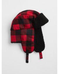 GAP Factory - Flannel Trapper Hat - Lyst b78ed489fba1